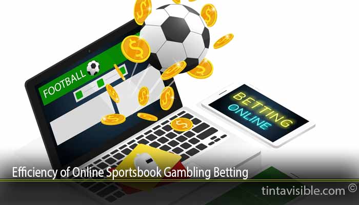 Efficiency of Online Sportsbook Gambling Betting